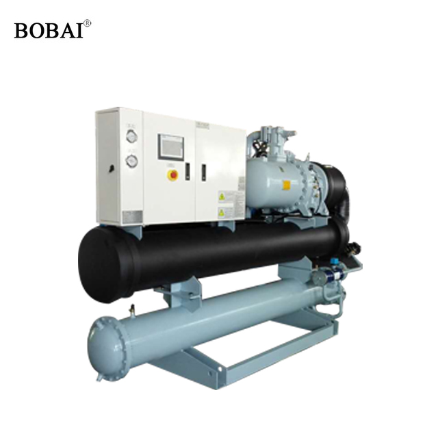 Water cooled screw chiller introduce